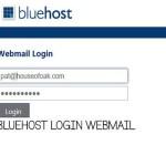 Bluehost Login Webmail