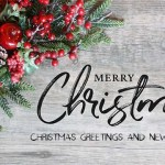 Christmas Greetings and New Year