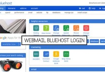 Webmail Bluehost Login
