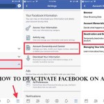 How To Deactivate Facebook On App