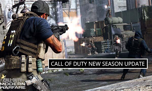 Call of Duty New Season Update