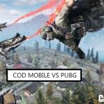 CoD Mobile VS PUBG