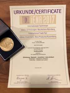 Goldmedaille für den SoftAIrSeat