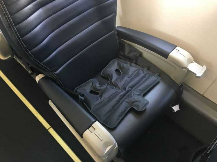Im Flugzeug in der Businessklasse... Anwendung Einsatz Nutzung im Flugzeug optimal