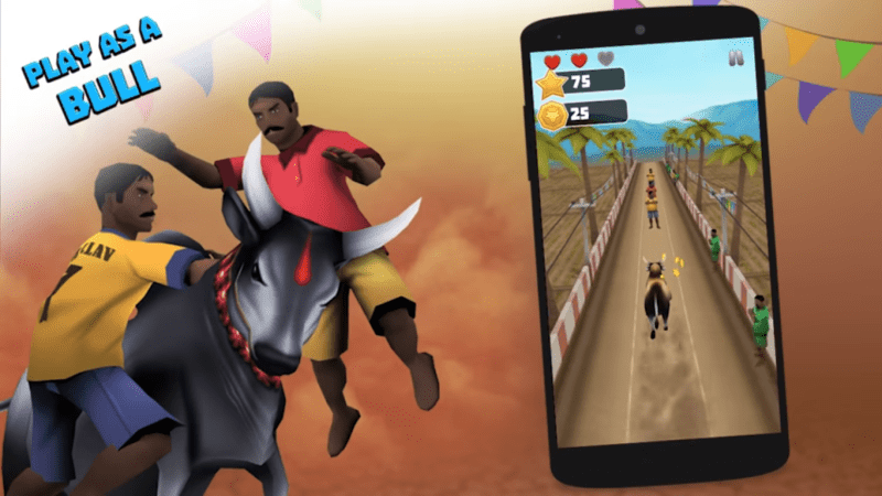 run android game