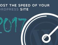 boost wordpress website speed