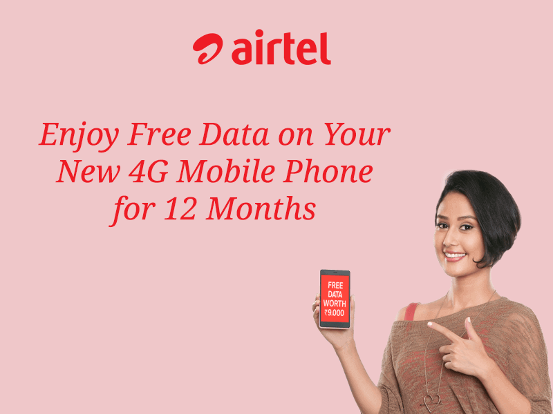 airtel 12 month free 4g offer scam