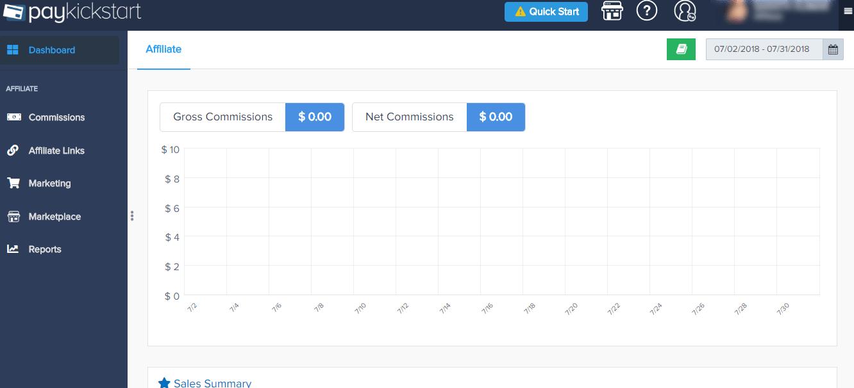 PayKickStart Dashboard