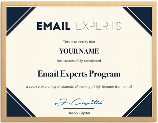 Email Income Experts by Jason Capital
