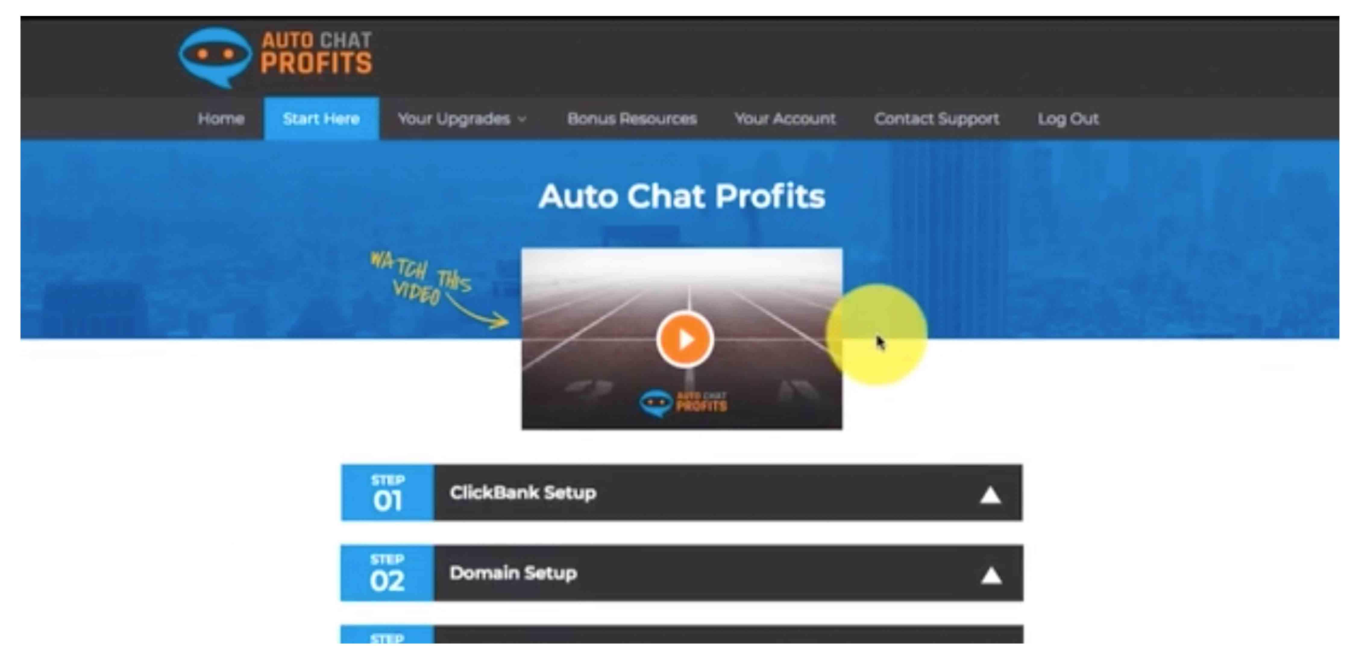 Auto Chat Profits System