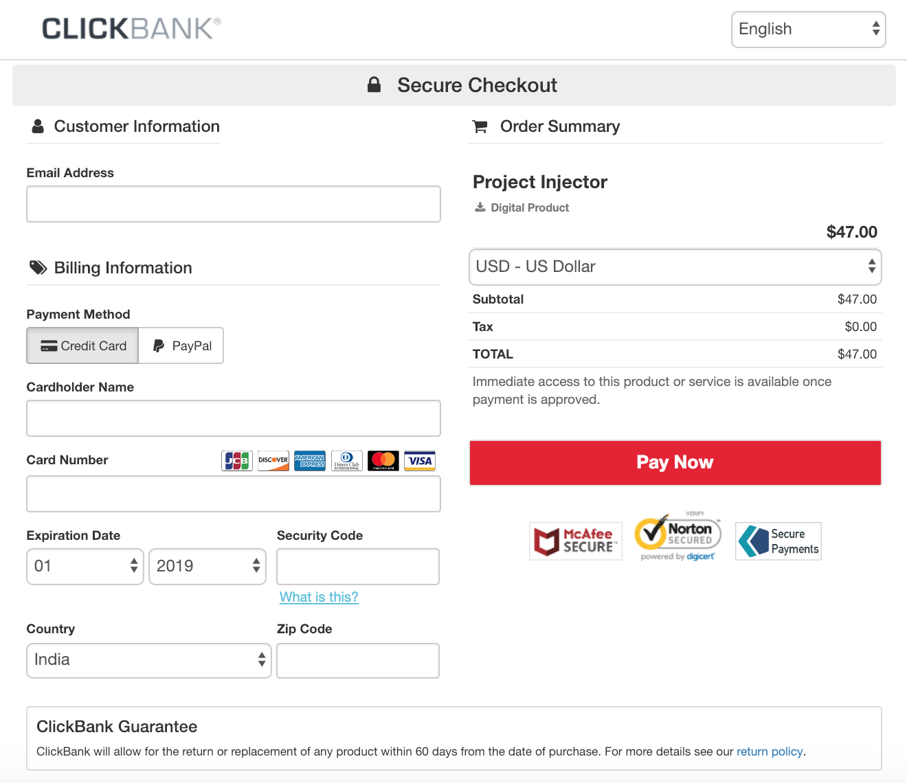 Profit Injector Discount