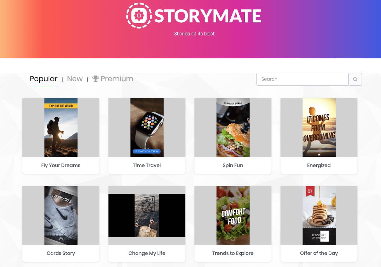 Storymate Templates