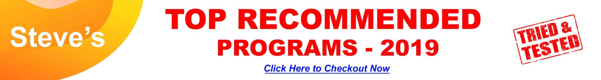 Recommended-Programs