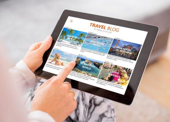 Run a Travel blog