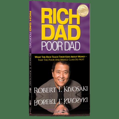 "Rich Dad, Poor Dad"" by Robert Kiyosaki and Sharon Lechter"