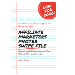 Affiliate Marketers Master Swipe File review