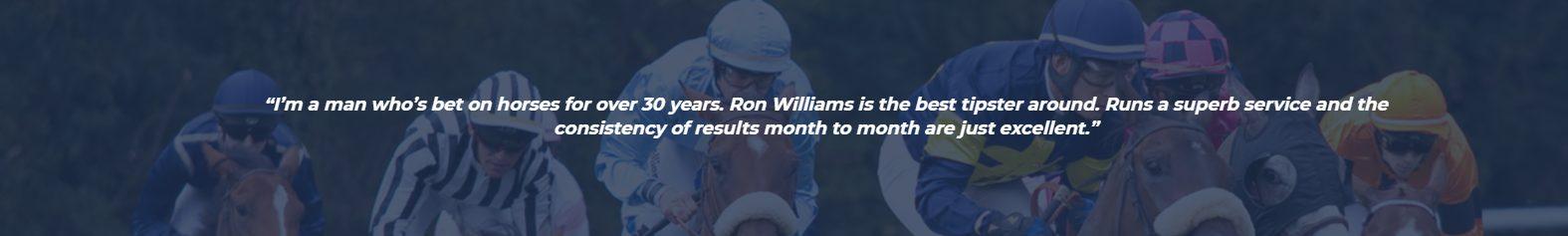 ron williams horse racing