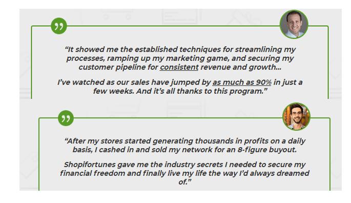 Shopifi Fortunes program review