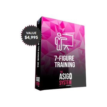 asigo bonus 7 figure training