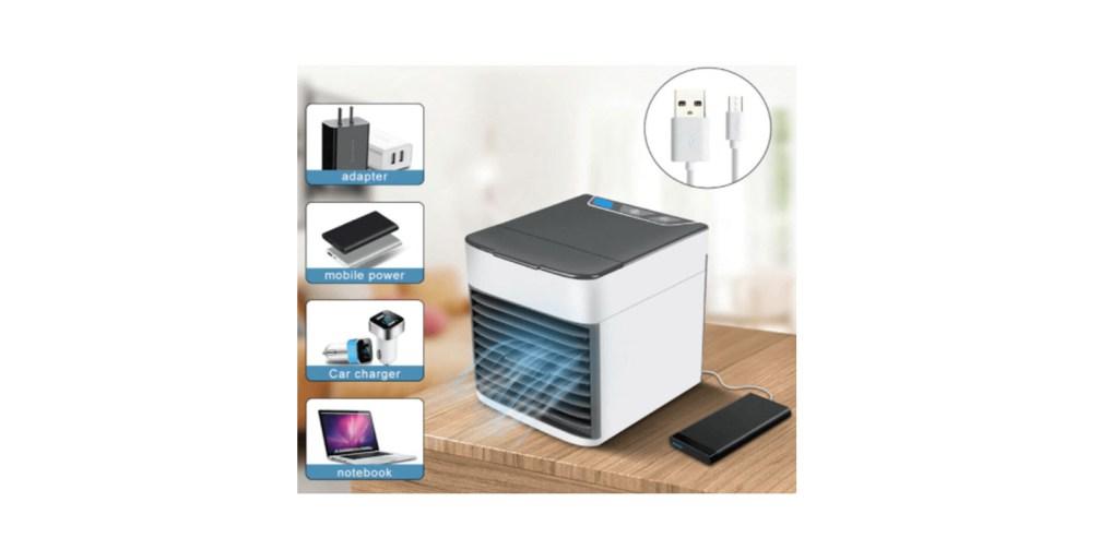 mini air cooler working