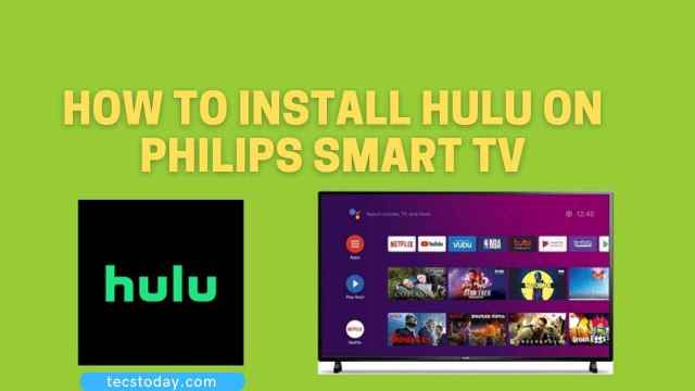 Hulu on Philips Smart TV