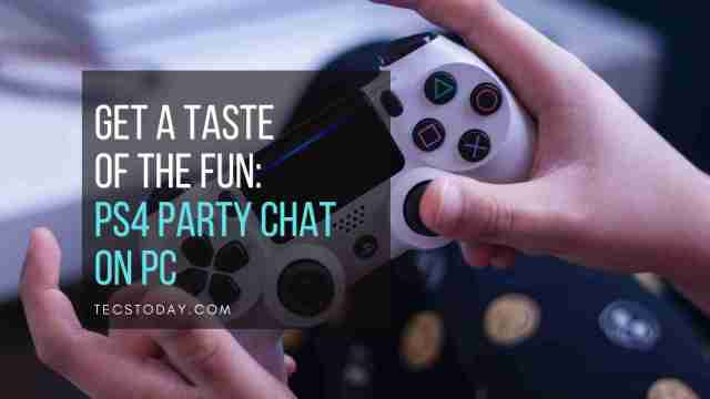 playstation party chat on pc