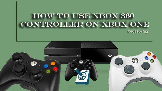 xbox 360 controller on xbox one