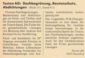 Swiss Bau 1991