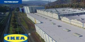 IKEA Itingen, Sanierung Warenlager Ost