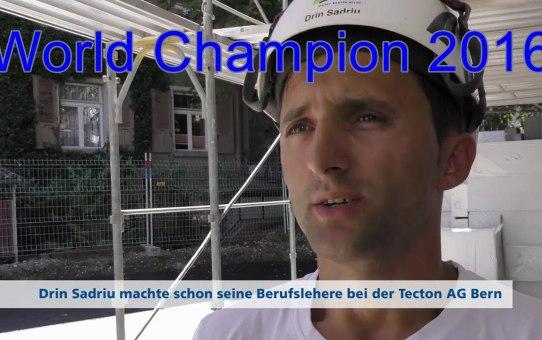 Menschen bei TECTON - Folge 03 Unser Weltmeister Drin Sadriu