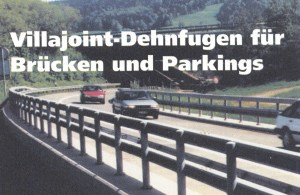 Villajoint-Dehnfugen für Brücken und Parkings