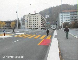 Instandsetzungsarbeiten Geissmattbrücke, Luzern