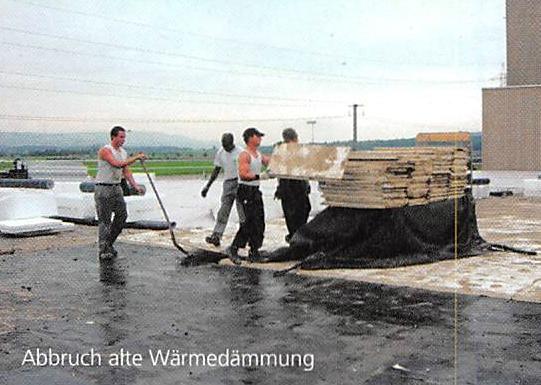 Sanierung des Lager- und Logistikcenters in Lupfig (AG)