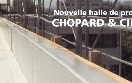 Nouvelle halle de production Chopard & Cie. S.A., Meyrin (GE)