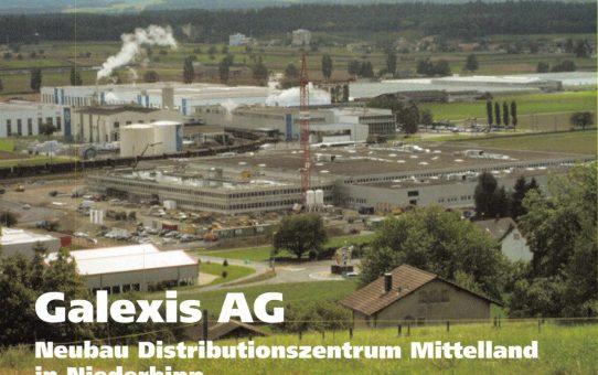 Galexis AG, Neubau Distributionszentrum Mittelland in Niederbipp