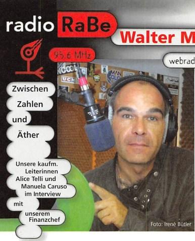 Radio RaBe - Radio Moderator