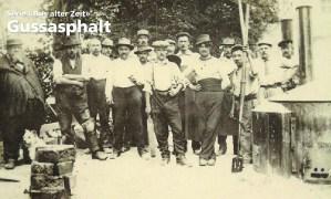 """Serie """"Aus alter Zeit"""": Gussasphalt"""