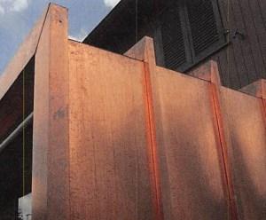 Exklusive Wohnraumerweiterung mit Kupferhülle