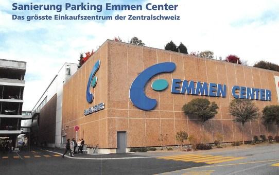 Sanierung Parking Emmen Center - Das grösste Einkaufszentrum der Zentralschweiz