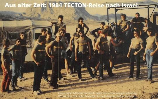 Aus alter Zeit: TECTON-Reise 1984 nach Israel