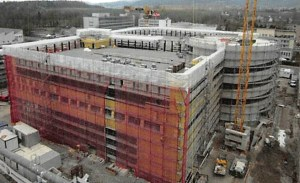 Neues Porsche-Zentrum und VW-Center in Schlieren