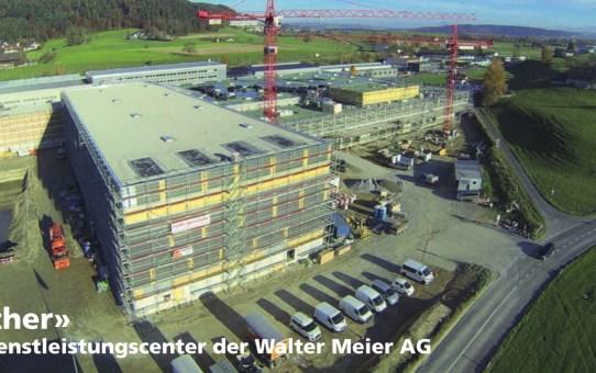 Together, neues Dienstleistungscenter der Walter Meier AG