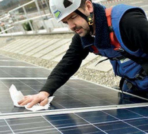 Service von PV-Anlagen