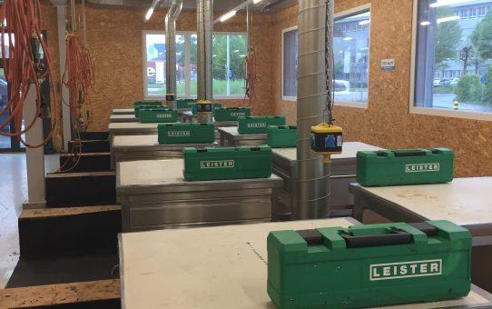 Kurs Kunststoffdichtungsbahnen Verarbeiter 1 vom 27. April 2017