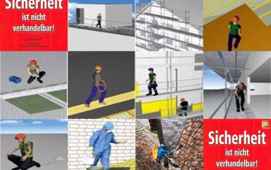 9 lebenswichtige Regeln für das Arbeiten auf Dächern und an Fassaden
