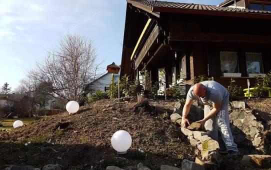 Vogelhaus aus Kupfer