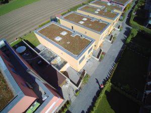 s'Drooni unterwegs im 2017 über Heimberg (BE)