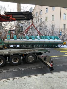 Neuer Werkhof TD Langabkantmaschine