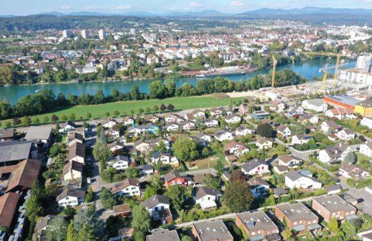 s'Drooni über Rheinfelden