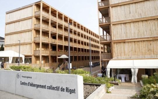 Centre d'hébergement collectif de Rigot, Genf